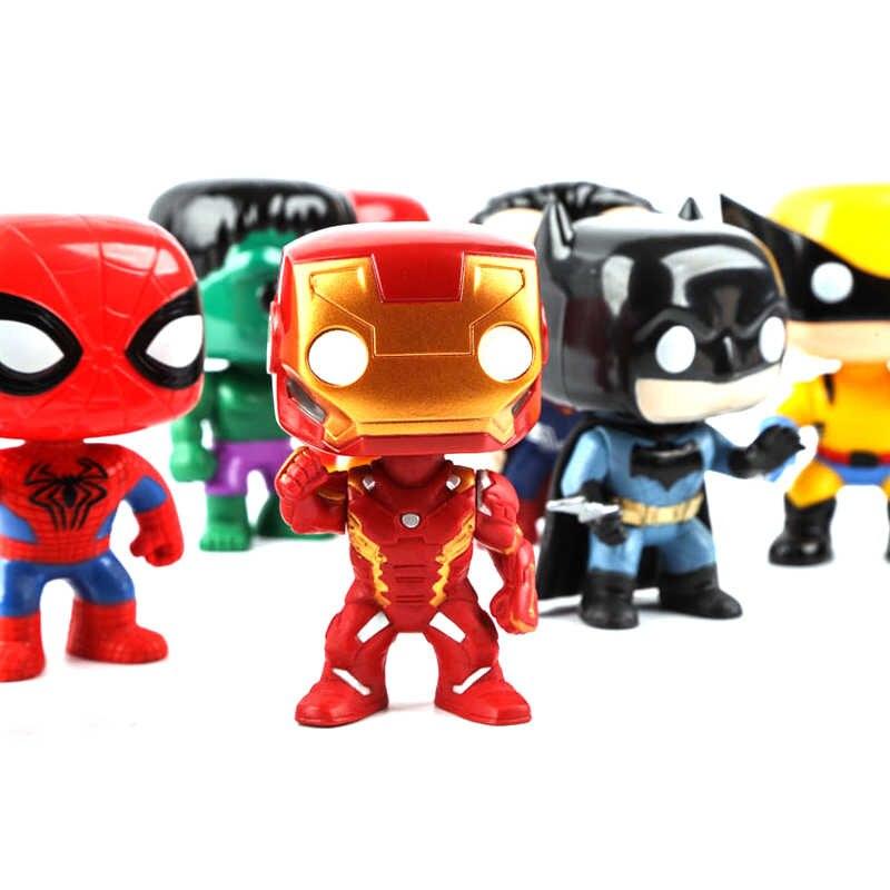 Funko Pops superheroes