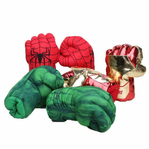 guantes de superheroes